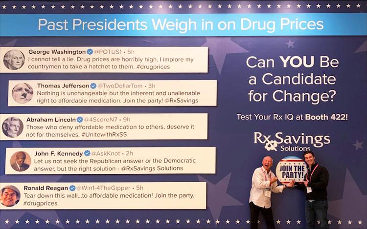Gary Earl and Drew Komenda at HLTH 2019