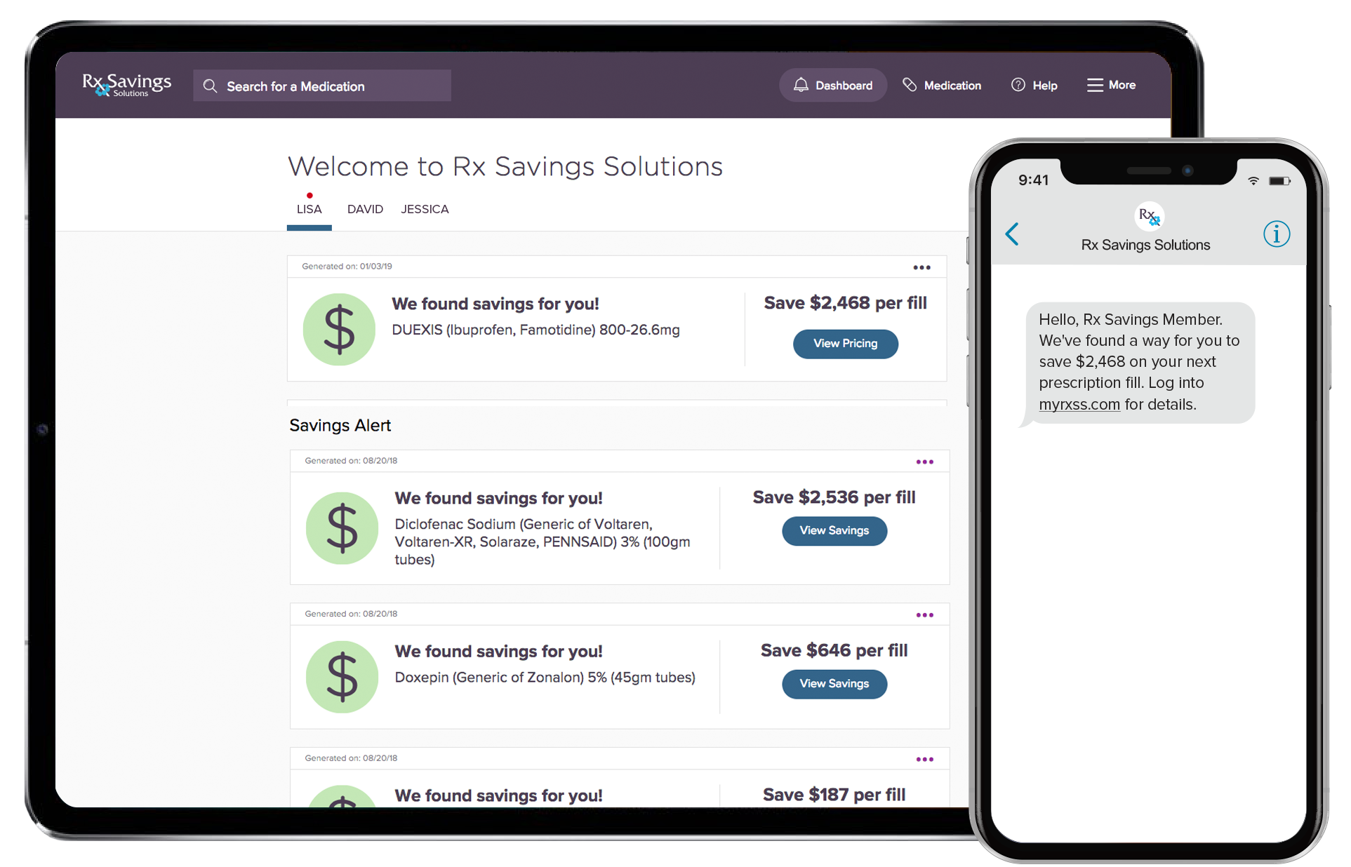 Members | Rx Savings Solutions